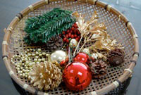 Christmas Cameo Feature Components Sample